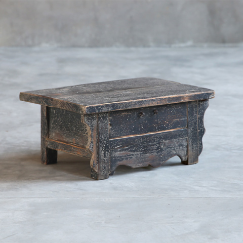 Reclaimed Teak Outdoor Side Table Clubcu