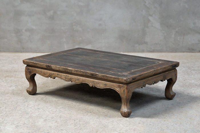 Next. Antique Elm Wood Kang Table ...